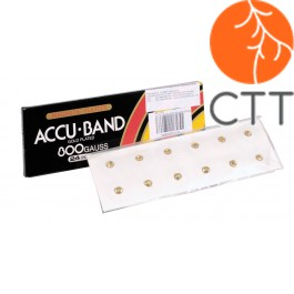Accu-Band Magnetpflaster 9000 Gauss, 5mm Durchmesser, Körper&Ohr, 12 Stk./Pk.