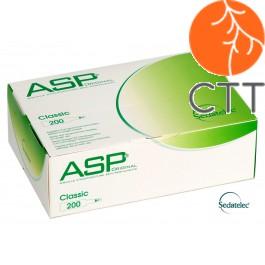 ASP CLASSIC Ohrdauernadeln Stahl von Sedatelec 200 Stk./Box