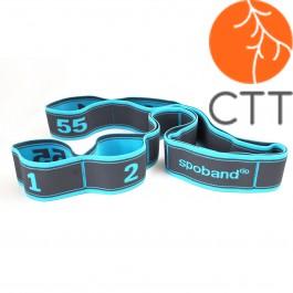 SPOBAND elastic Band in 5 verschiedenen Staerken und Farben