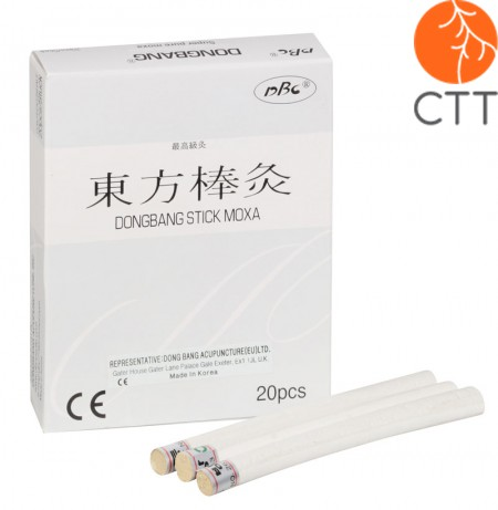 DongBang Super Pure Moxa Sticks Ø 0.9 x 12cm, 20 Stk./Box