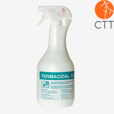 FERMACIDAL D2 1 Liter Sprühflasche Desinfektion Flächen und Objekte