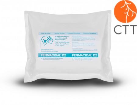 FERMACIDAL D2 Desinfektion NACHFÜLLBEUTEL 120 Stück