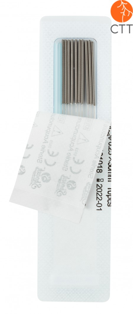 SHOOSH, Stahlnadel (corean style) 10 N./Blister, 200 Nadeln pro Box