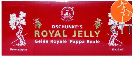 Dschunke''s Royal Jelly Standard, 30 Trinkampullen