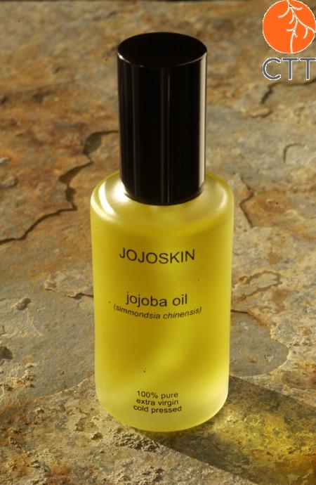 JojoSkin 100 Prozent reines und natuerliches Jojoba Oel, Glasflasche mit 60 ml