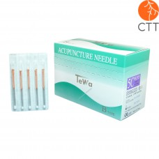 Nadeln TeWa 5CB-Type, SpeedPak, 1000 Nadeln pro Box, 5 Nadeln pro Blister, mit Kupferwendelgriff