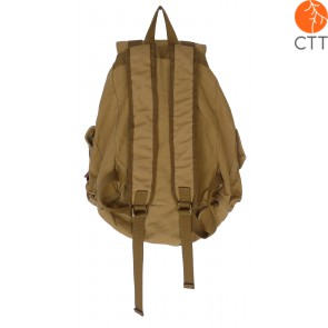 Shoosh Canvas Backpack Rucksack, 100% Canvas soft, Farbe khaki, Eco friendly, 38