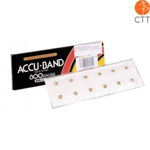 Accu Band Magnetpflaster, 6000 Gauss, 12Stk./Box