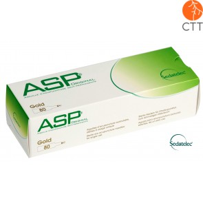 ASP GOLD Ohrdauernadeln Sedatelec 80 Stk./Box