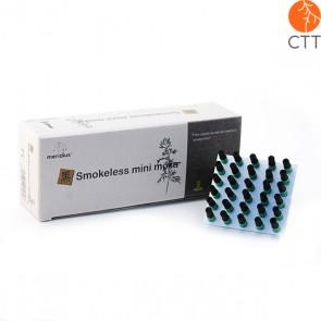 MERIDIUS Moxa-Mini-Aufkleber ohne Rauch 180 Stück Moxa-Zylinder zum Kleben