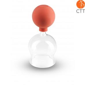 Schröpfglas nach BIER mit Gummi-Ball ca. Ø 3cm