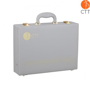 Schröpfgläser-Set Vakuum Deluxe, 24 Gl. m. Pumpe im Kunstleder-Koffer
