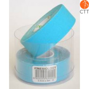 NASARA  Tape, blau, schmal, 2.5cm x  5m (2 Rollen)