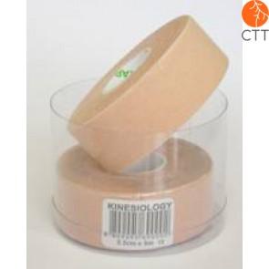 NASARA Tape, beige, schmal, 2.5cm x  5m . 2 Rollen