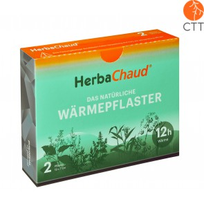 HerbaChaud, das natürliche Waermepflaster Box mit 2 Pflaster