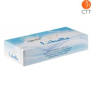 Kosmetiktücher aus 100% Zellstoffwatte, 100 Stk./Box, 1 Box