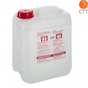 Manoferm Hand- und Hautdesinfektionsmittel, ohne Alkohol, 10 Liter Kanister