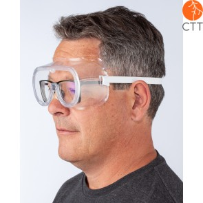 Schutzbrille fuer Brillentraeger