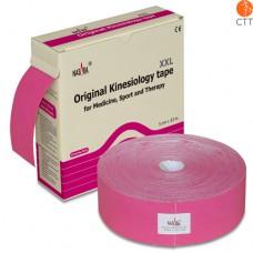 NASARA Kinesio Tape, pink - Klinikversion, 5cm x 32m