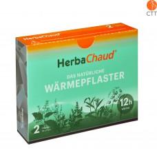 HerbaChaud, das natürliche Wärmepflaster Box mit 2 Pflaster