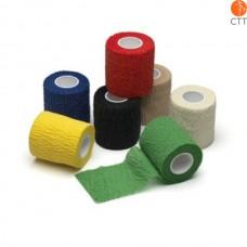 HerbaChaud Flex, 2.5cm x 4.5m, elastische, reissbare Haftbinde in 7 Farben