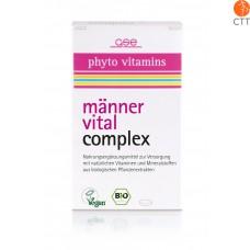 Männer Vital Complex, Bio, 60 Tbl. à 500mg (30g)